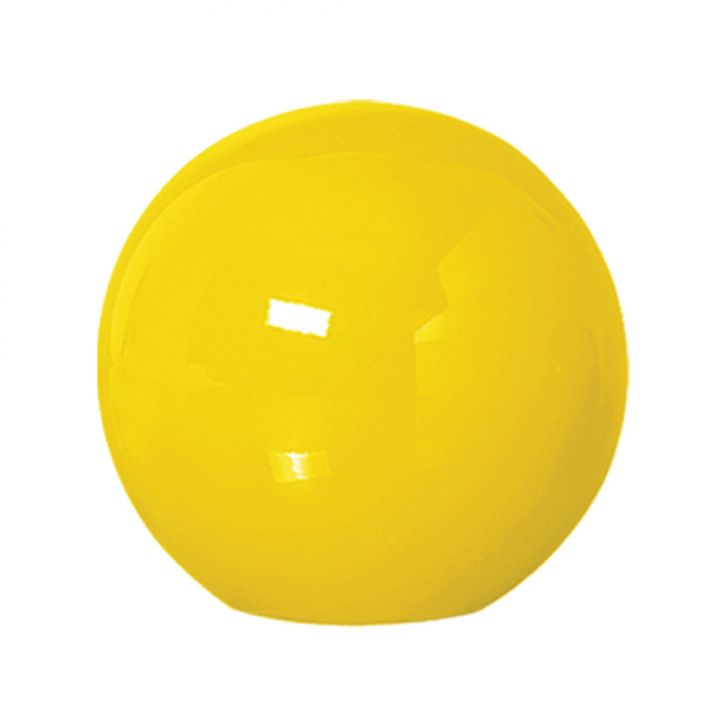 Bola de Mesa Pequeno Amarelo Brilho