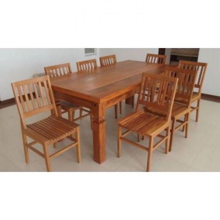 Mesa de jantar madeira maci a demoli o peroba rosa 2 for Mesa 2 metros comensales