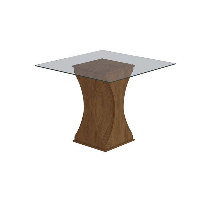 Mesa de Jantar Quadrada Andréia Savana 100 cm