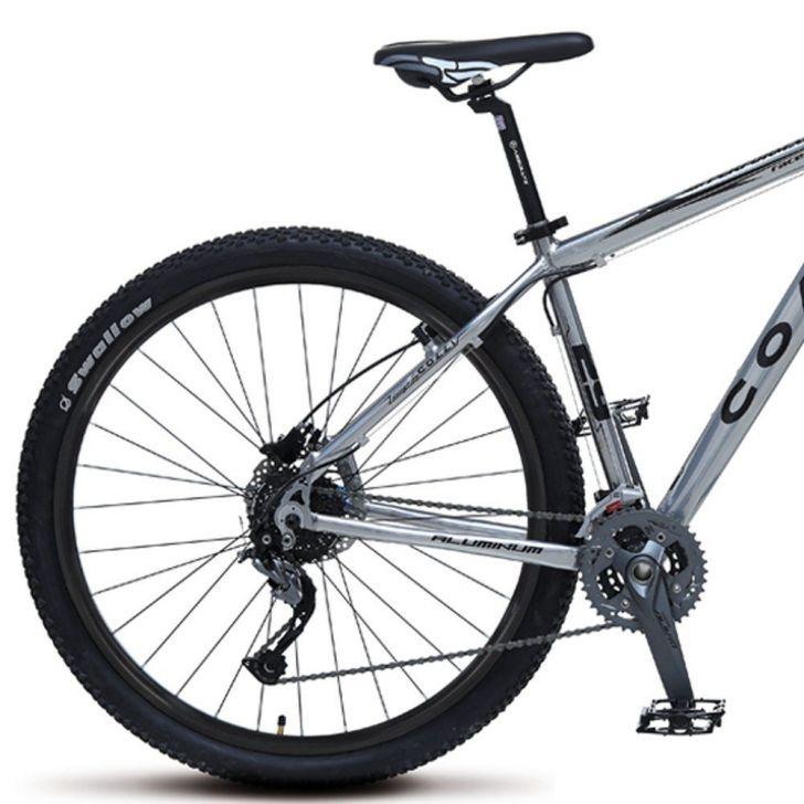 Edredon Bicicleta.Bicicleta Aro 29 Freio A Disco Shimano Alivio Mtb Aluminio Prata Colli Bikes