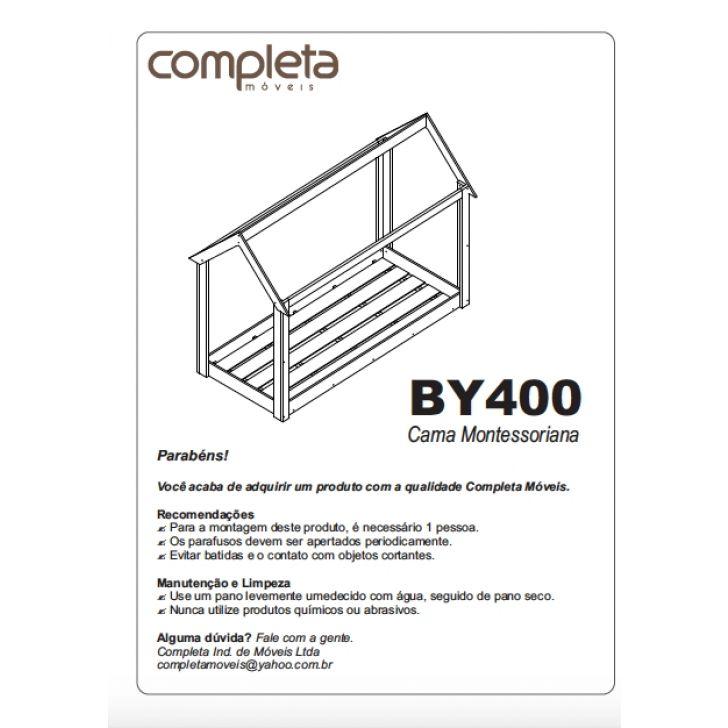 0300a74d1 Kit Cama Cabana Montessoriana Com Colchão Pby400bc Completa Móveis