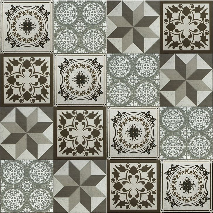 Adesivo para azulejo ladrilho hidr ulico mosaico 15x15cm for Vinilo azulejo hidraulico