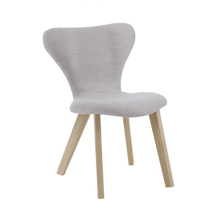 Cadeira de Jantar Açai Linhão Cinza