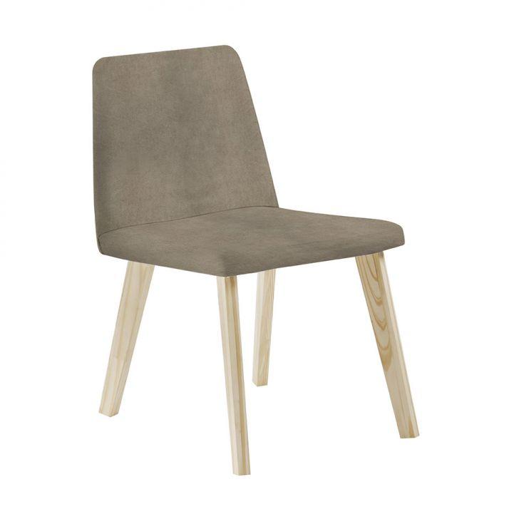 Cadeira de Jantar Piqui Veludo Fendi