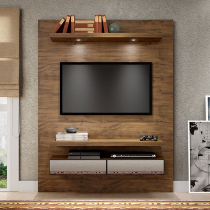 Home Theater O Cinema Na Sua Casa: Home Theater Suspenso Para TV Nobre