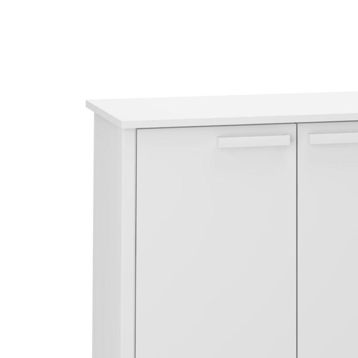 Artesanato Simples ~ Armário Baixo para Escritório DL 903 Branco