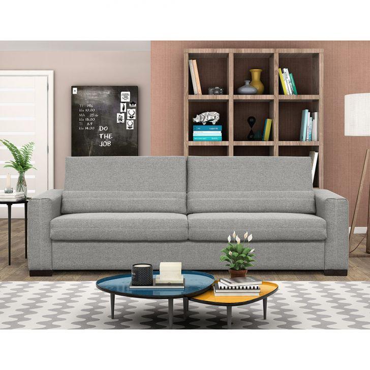 sof 3 lugares evidence suede cinza 200 cm. Black Bedroom Furniture Sets. Home Design Ideas