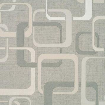 Papel de Parede Italiano Imagine 2 34474 Vinílico com Estampa contendo Geométrico, aspecto Têxtil, Retrô DESCONTO DE R$: 29,00 (9,09% OFF) - OFERTA MOBLY