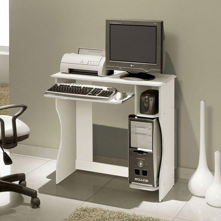 Mesa Para Computador Livia Branco