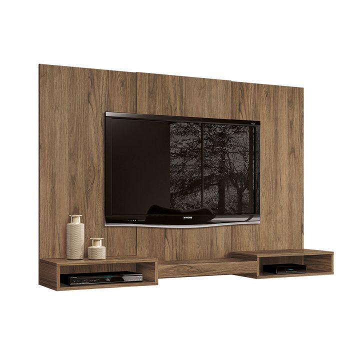 painel para tv 60 polegadas prime freijo 160 cm. Black Bedroom Furniture Sets. Home Design Ideas