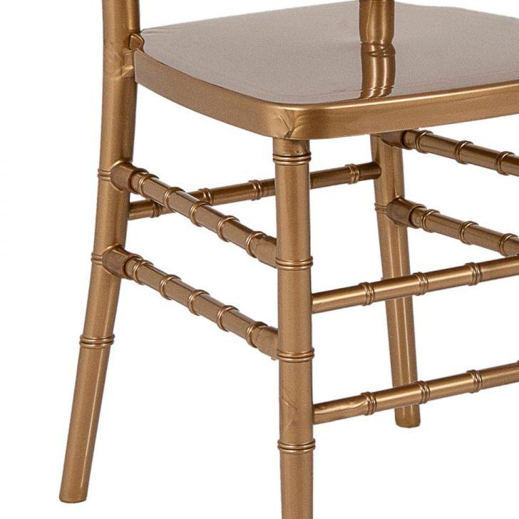 Populares Cadeira Tiffany Dourada IW54