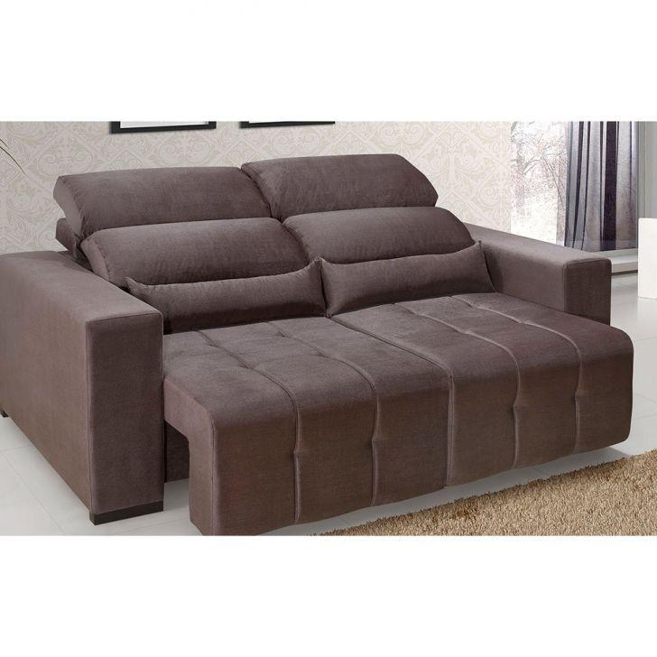Sof 3 lugares retr til e reclin vel dubai marrom for Sofa 7 lugares retratil e reclinavel firenze