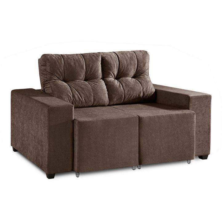 Sof 2 lugares retr til e reclin vel bahrein suede for Sofa 4 lugares retratil e reclinavel caravaggio suede amassado marrom