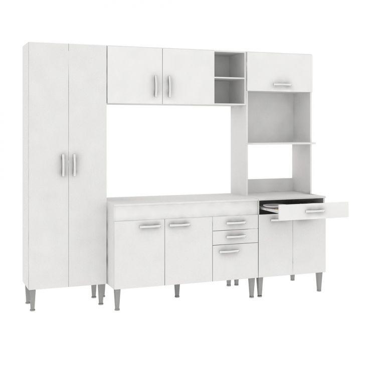 Cozinha Compacta Classic II 10 PT 3 GV Branco