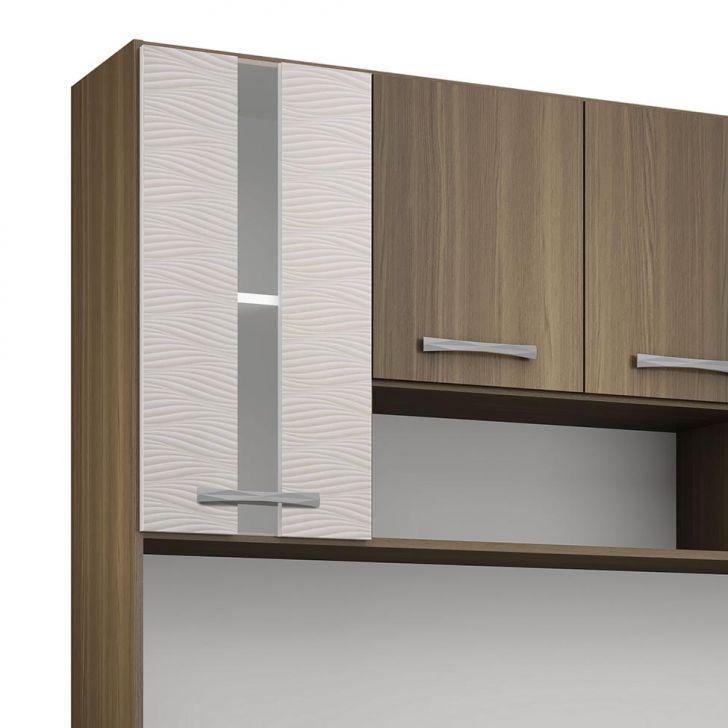 Foto 5 - Cozinha Compacta Anie 8 Pt 1 Gv Castanho e Mel