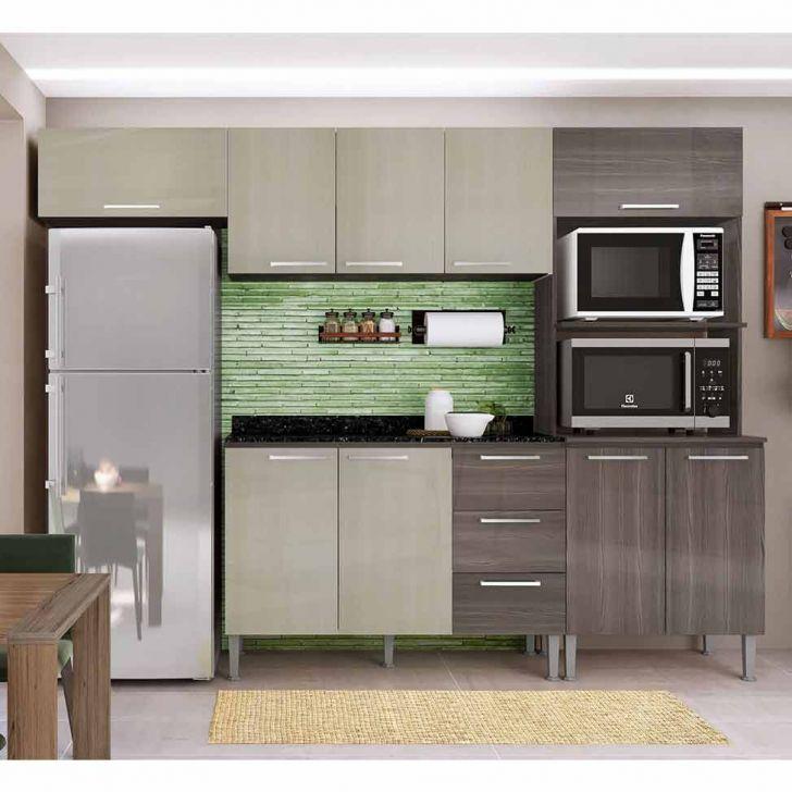 Cozinha Compacta Bia 9 Pt 3 Gv Dakota e Ártico
