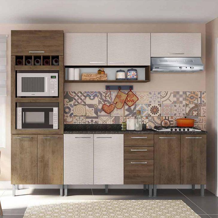 Cozinha Compacta Isadora 10 Pt 3 Gv Demolição e Mel