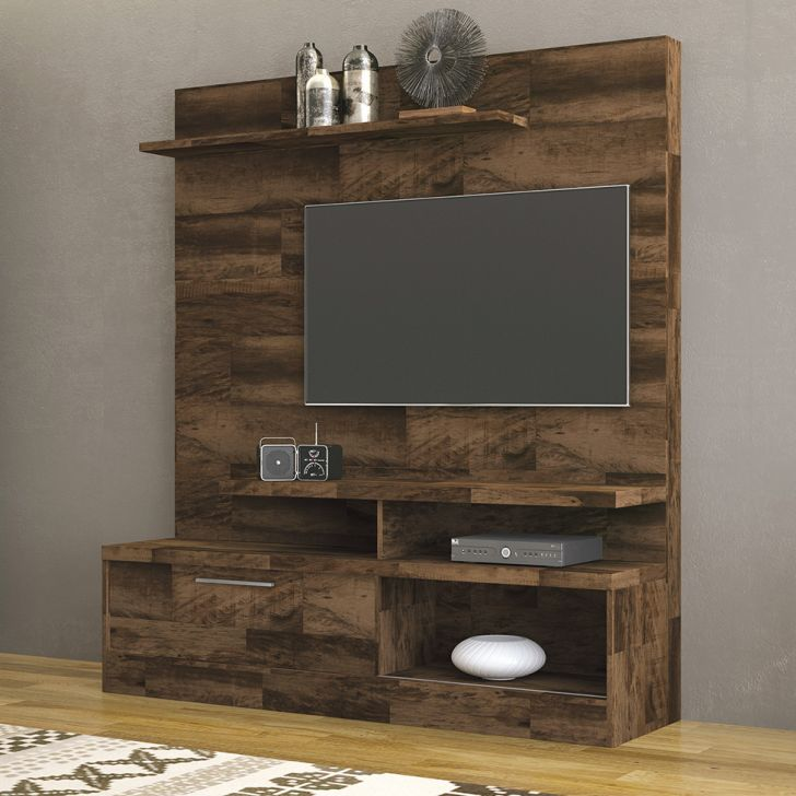 Estante para Home Theater e TV 50 polegadas Folk Deck