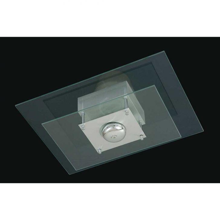 Plafon Saturno Aluminio e Vidro PMR 135 Escovado Transparente Bivolt