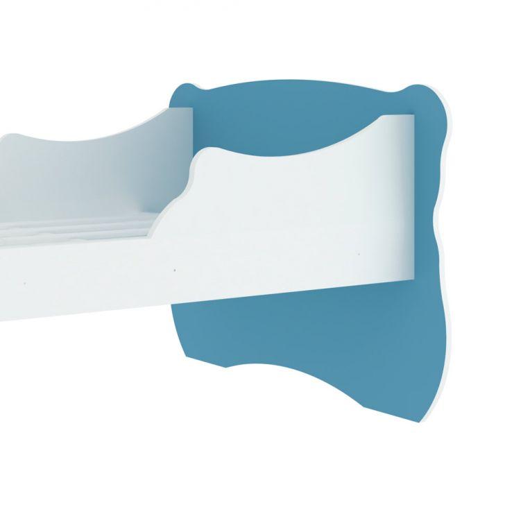 Foto 5 - Cama Infantil Baby Estrela Branca e Azul