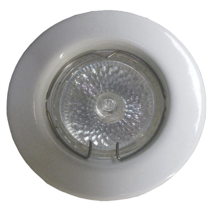 Mini Spot Dicróica Fixo Aço Com Pintura Eletrostática Mr11 35W 220V Branco