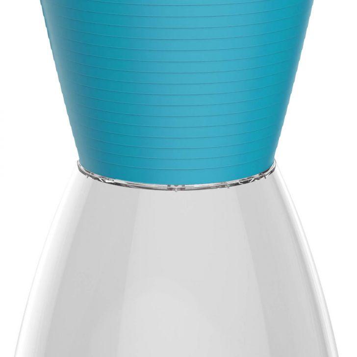 Banco nobe policarbonato cristal e azul i 39 m in - Cristal policarbonato ...
