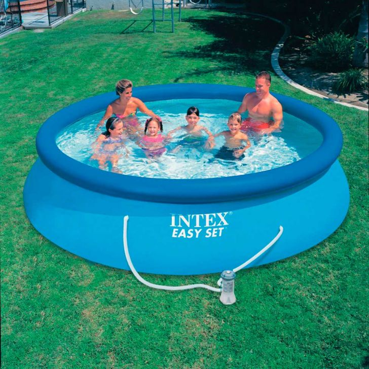 Piscina easy set 5621 litros 28130 intex for Piscina intex easy set