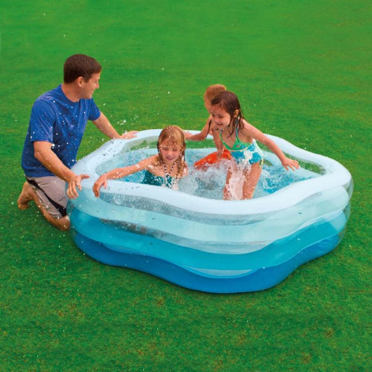 Piscina familiar ver o estrela 460l 56495 intex for Alberca familiar intex