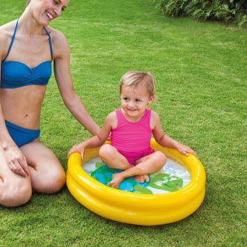 Piscina Infantil Baby 17L Amarela 59409 Intex Intex Baby