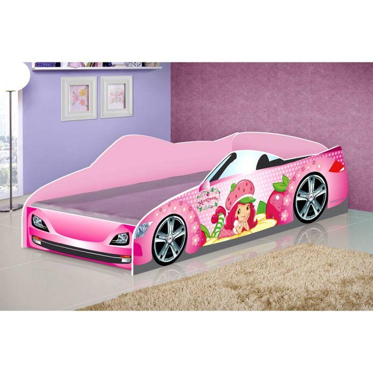 Cama carro star moranguinho infantil - Cama coche infantil ...