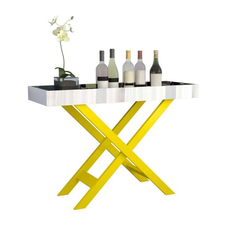 Aparador Chute Grande ~ Aparador Bar Fernando Amarelo