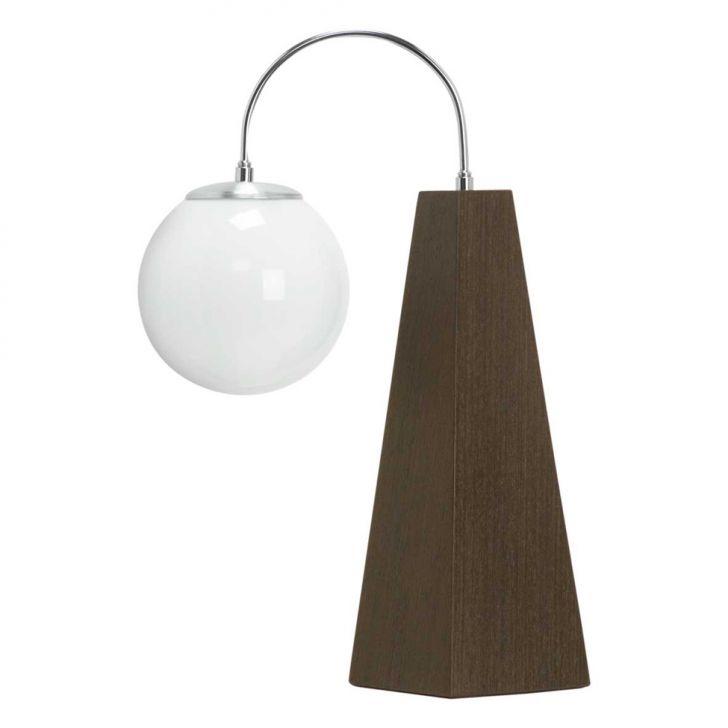 Abajur 54 Wengue  Para 1 lâmpada