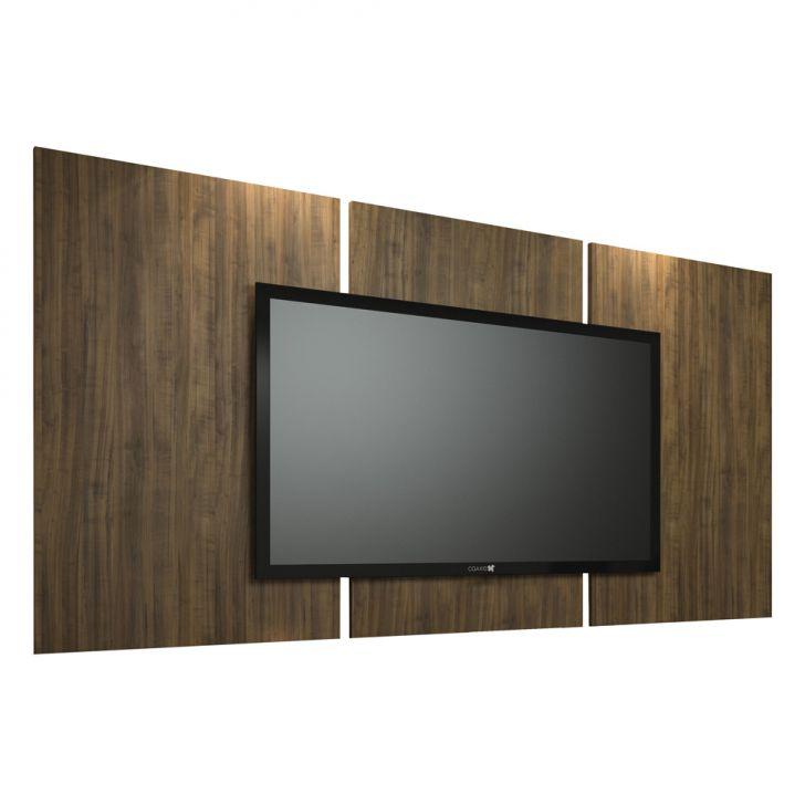 painel para tv 60 polegadas elite ameixa negra 240 cm. Black Bedroom Furniture Sets. Home Design Ideas