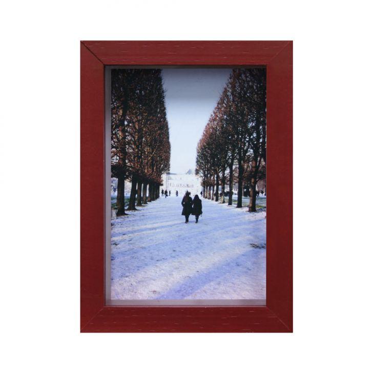 Porta-Retrato Caixa Color Vermelho 15x21cm