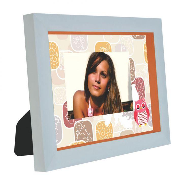 Porta-Retratos Photodecor 1 Foto 10X15 Laranja Kapos