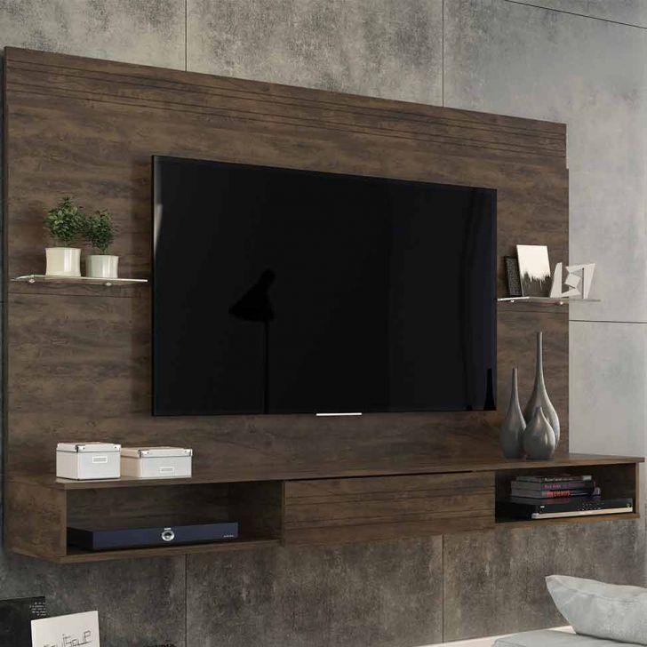 Painel para TV 55 Polegadas Juazeiro Cacau 181 cm