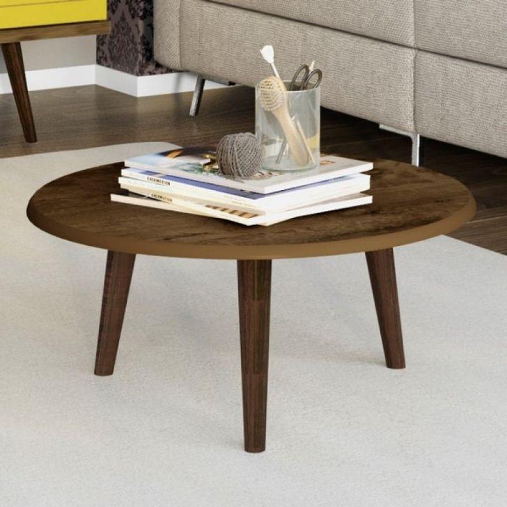 Conjunto para sala de estar com mesa de centro e mesas for Mesas de centro de sala de vidrio