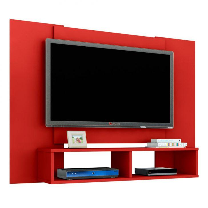 painel para tv at 48 polegadas navi vermelho 120 cm. Black Bedroom Furniture Sets. Home Design Ideas