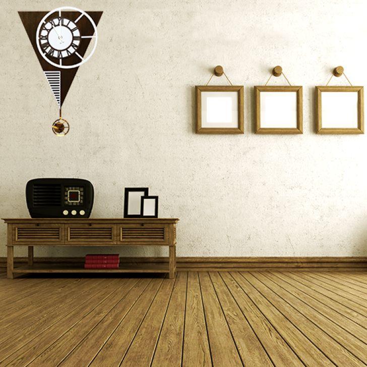 3822087b808 Relogio Pendulo Triangular Concept - 35X55cm - ME Criative