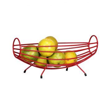 Fruteira Auê Pequena - Vermelho DESCONTO DE R$: 49,80 (23,08% OFF) - OFERTA MOBLY