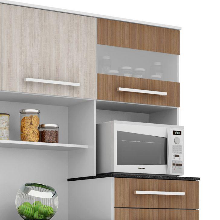 Foto 10 - Cozinha compacta Suprema 6 PT 2 GV Branco e Elmo