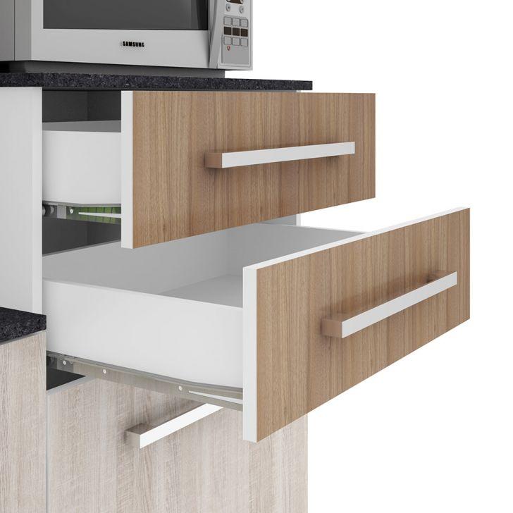 Foto 11 - Cozinha compacta Suprema 6 PT 2 GV Branco e Elmo