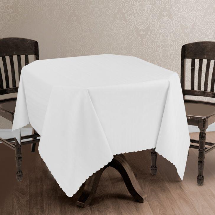 toalha de mesa imperme vel branca 1 40x2 00. Black Bedroom Furniture Sets. Home Design Ideas