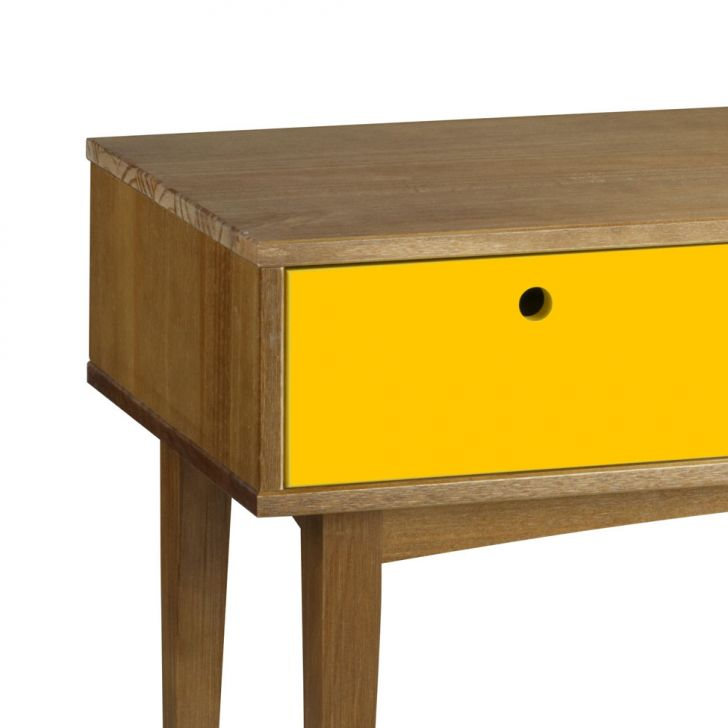 Armario Escobero Aki ~ Aparador Vintage Madeira com amarelo Maxima
