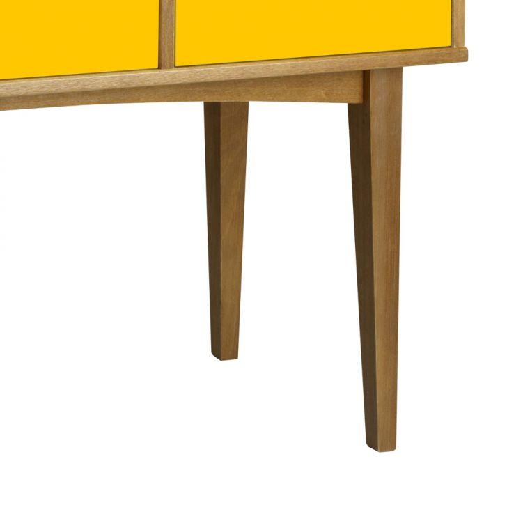 Adhesivo De Montaje Easy ~ Aparador Vintage Madeira com amarelo Maxima