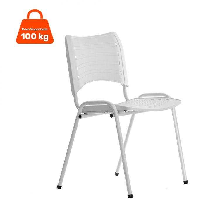 Cadeira Evidence Fixa Color Branca