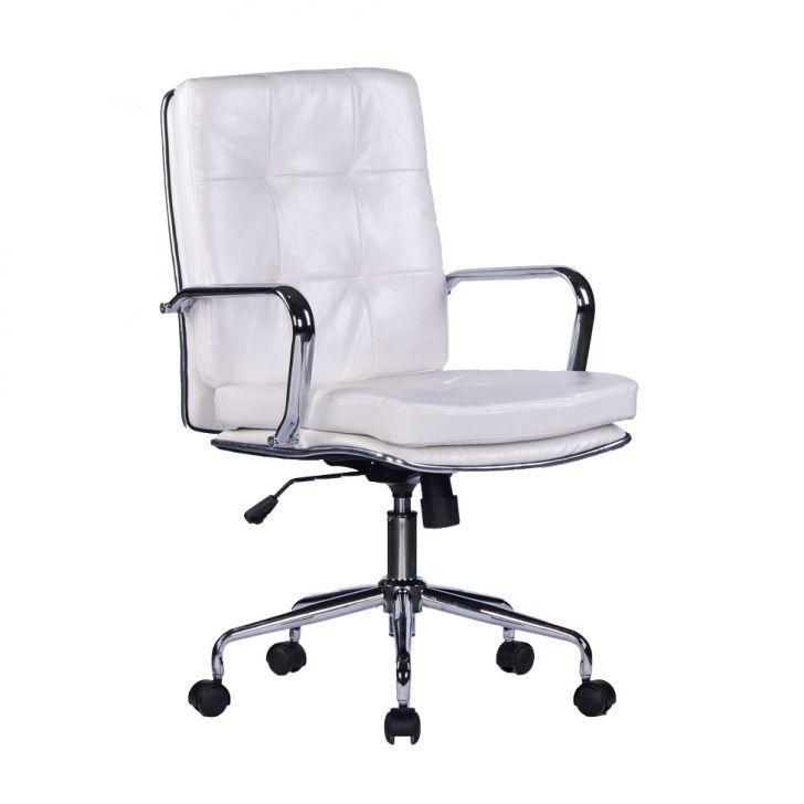 Cadeira de Escritório Diretor Bélgica Branca