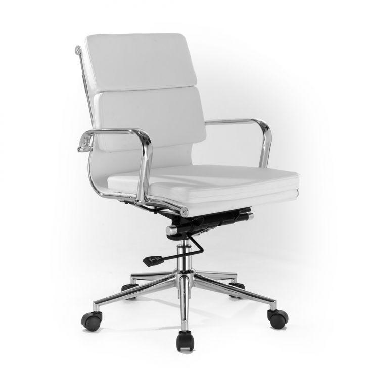Cadeira de Escritório Diretor Padd Branca