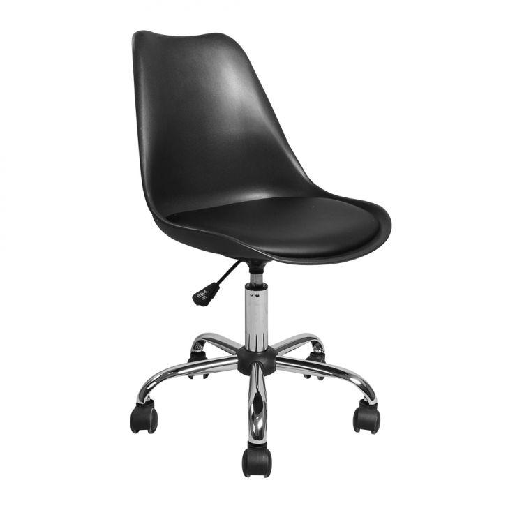 Cadeira de Escritório Eames Preta