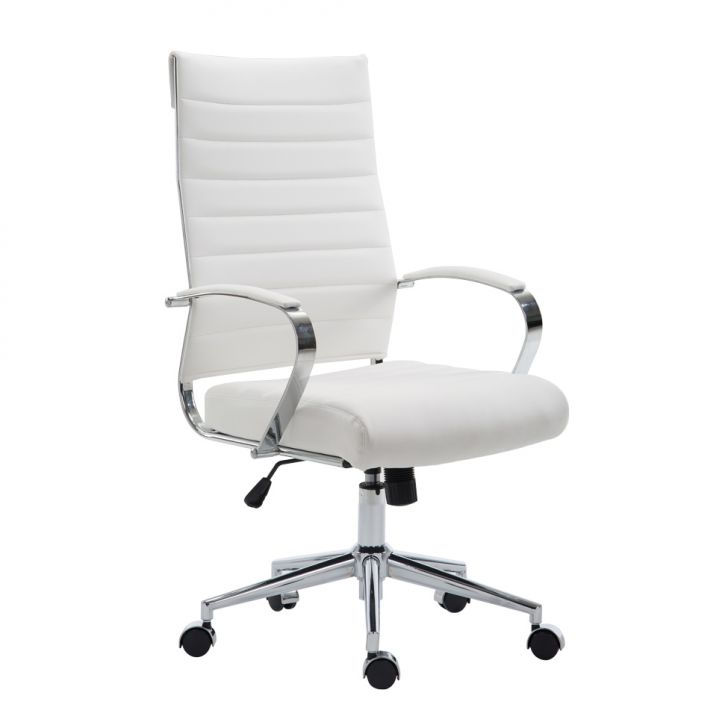 Cadeira de Escritório Presidente Portugal Branca
